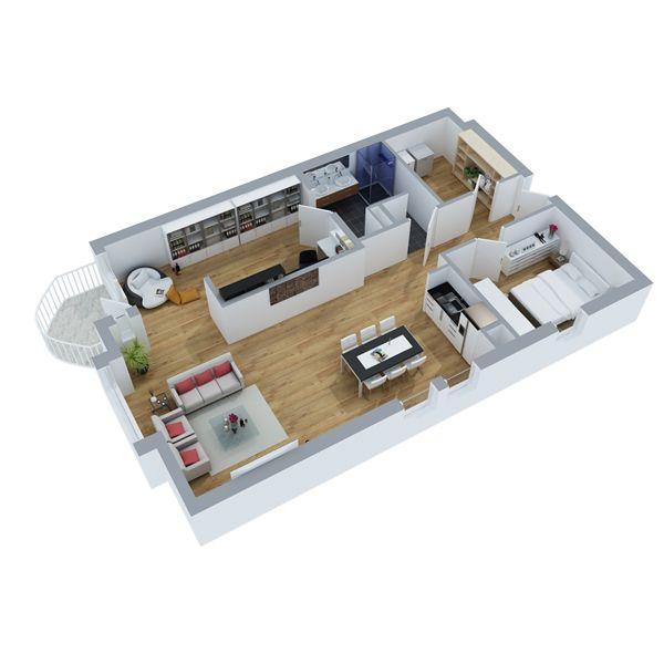 Appartement 2 (3D)